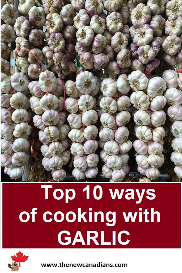 top ways of cooking with garlic